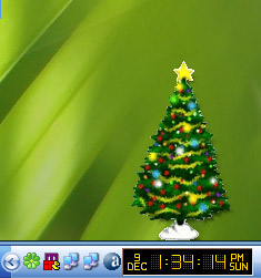 Click to view Desktop Christmas Tree 1.3 screenshot