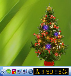 Desktop Tannenbaum screenshot