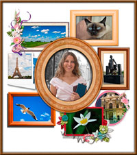 Free Photo Frame - Frame your own photos with your desktop.